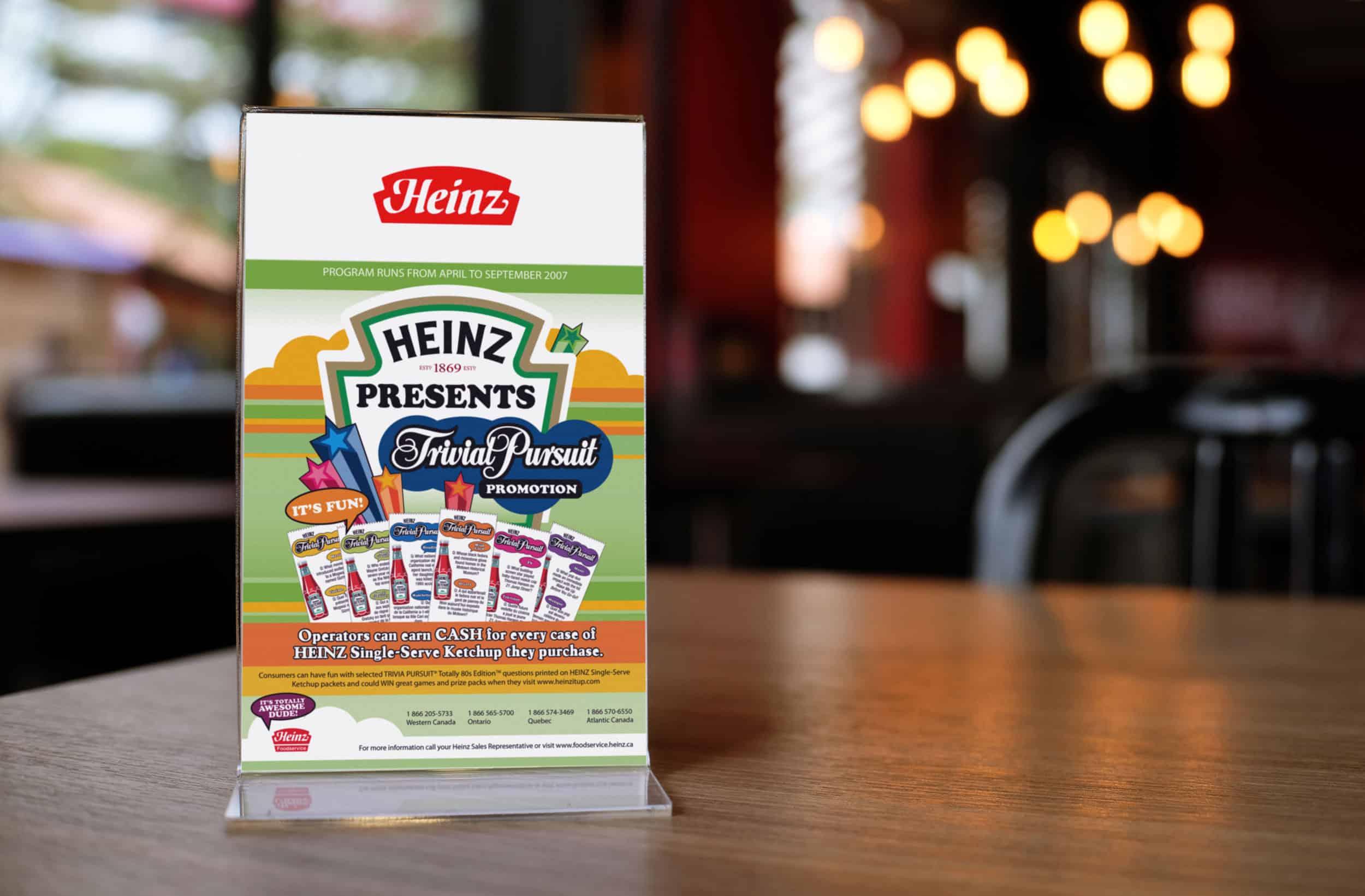 Heinz Ketchup B2B Campaign