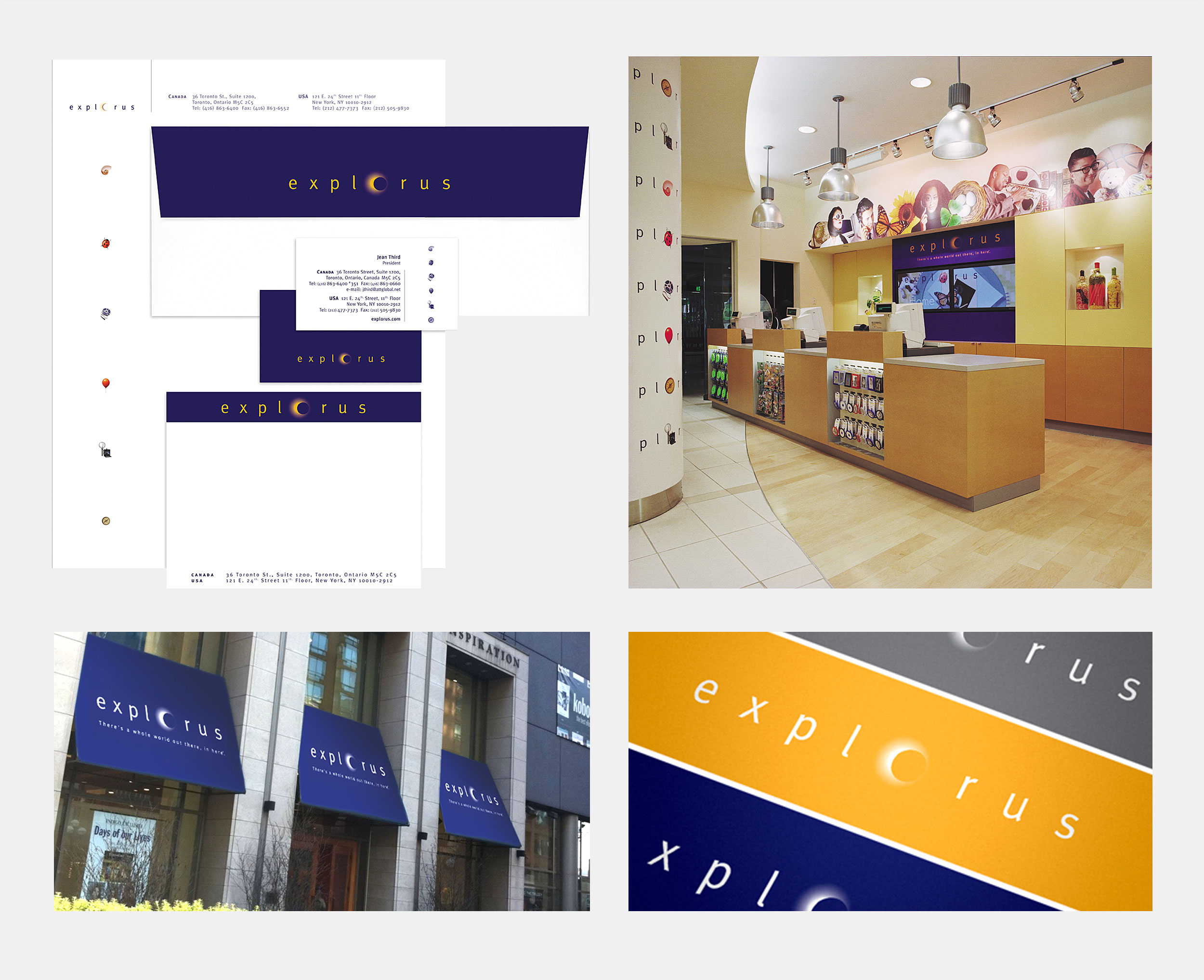 Retail Brand Design for Explorus